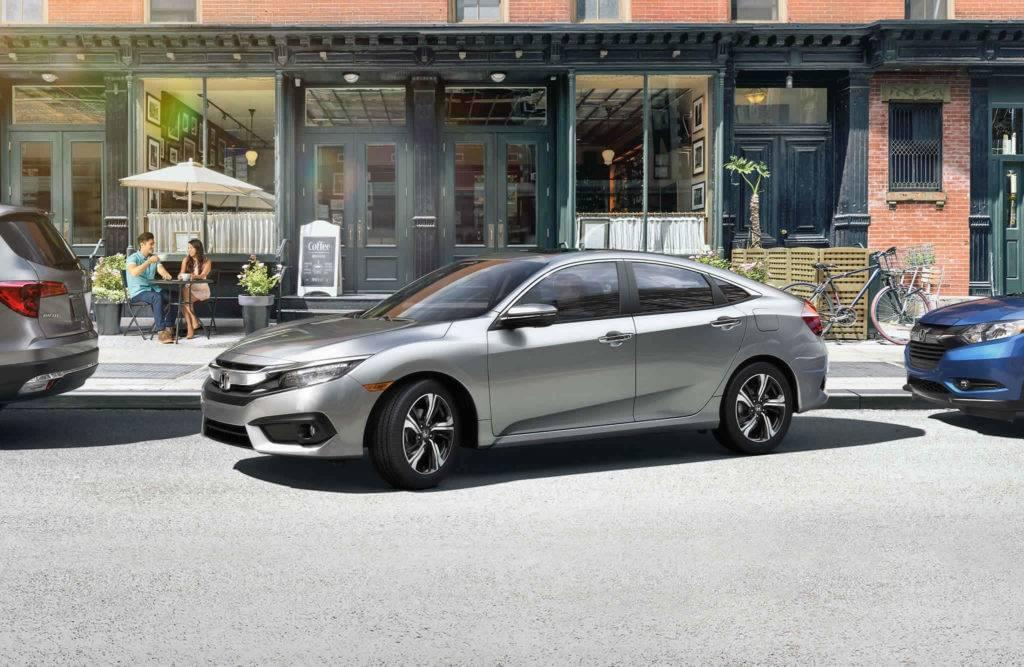 2017 Honda Civic Sedan Exterior Front Silver