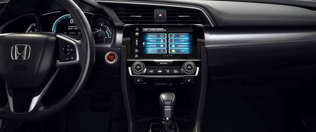 2017 Honda Civic Sedan Interior Front