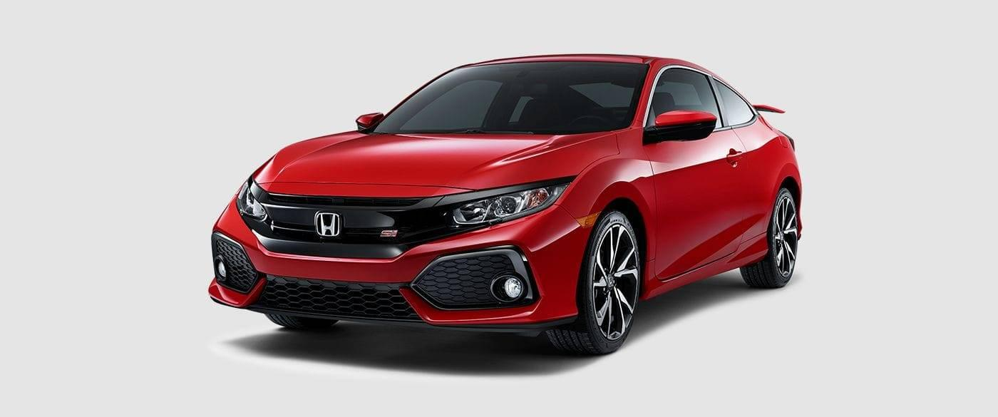 2017 Honda Civic Si Coupe Front Red Exterior
