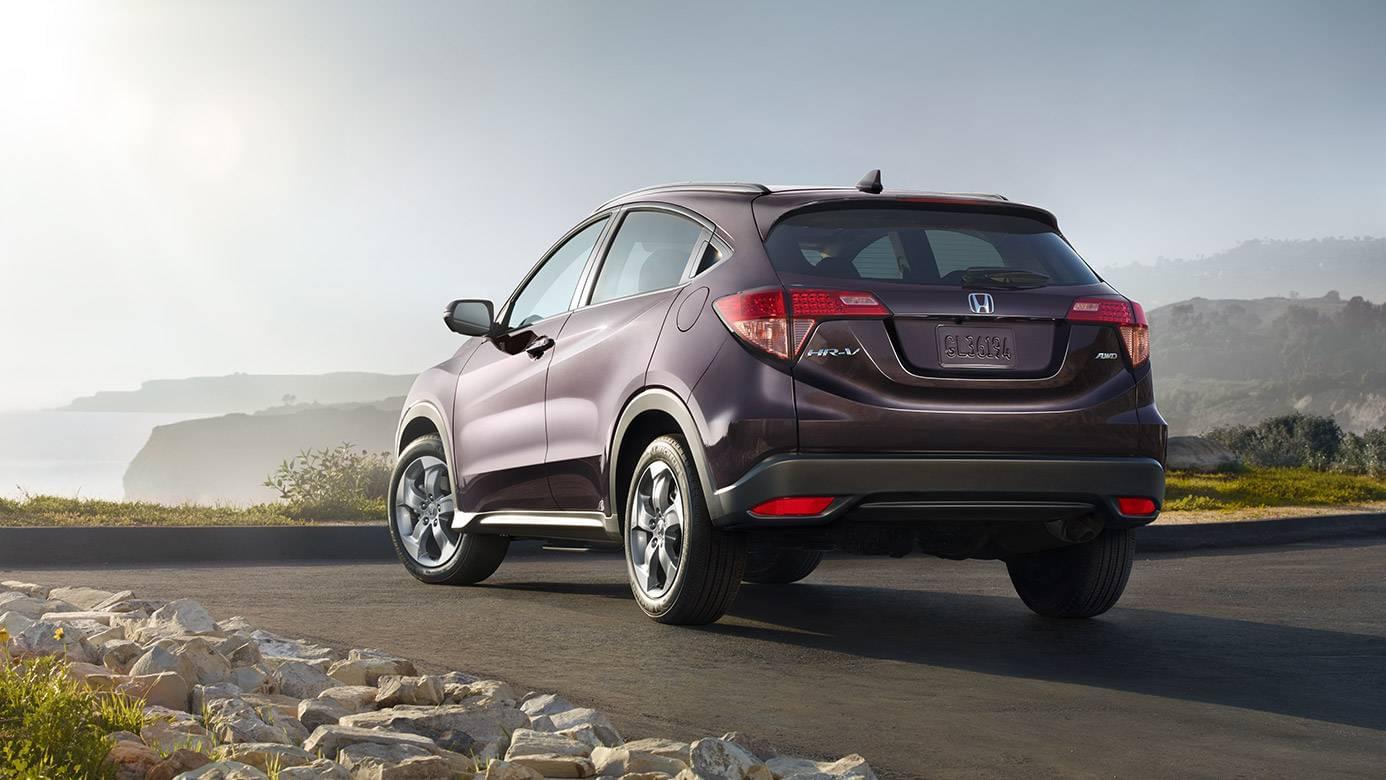 2017 Honda HR-V Rear Exterior Gray