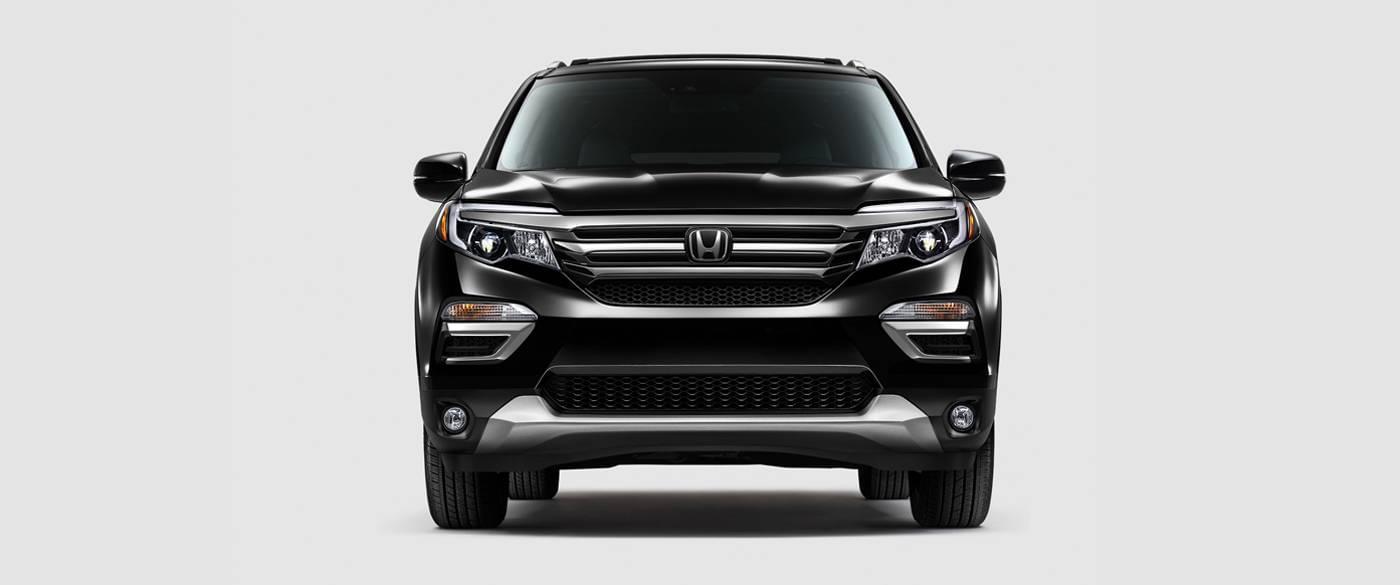 2017 Honda Pilot Black Front Exterior