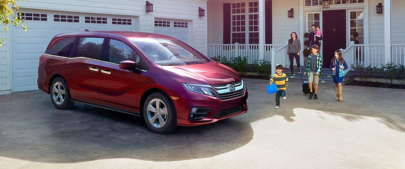 2018 Honda Odyssey Family Front Exterior