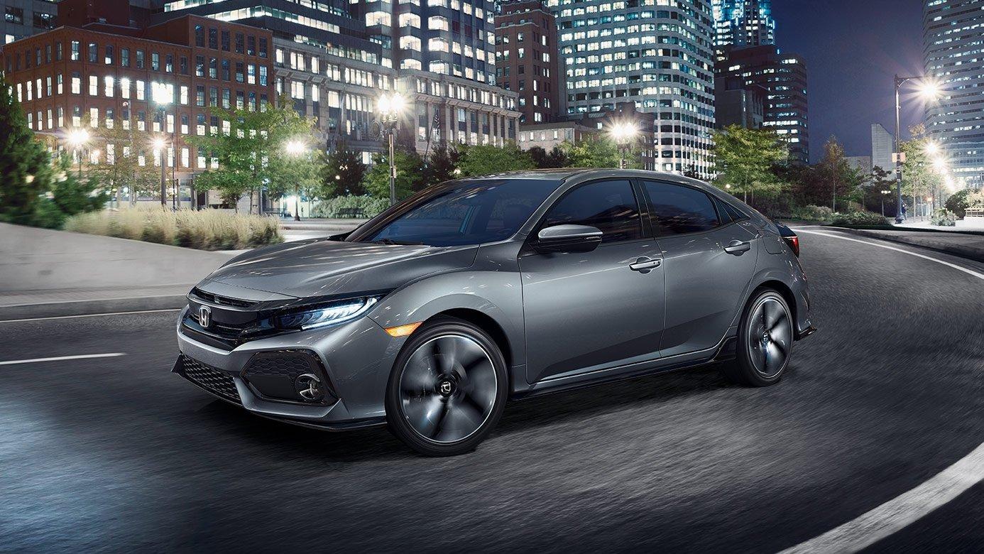 2017 Honda Civic Hatchback Exterior Side Front