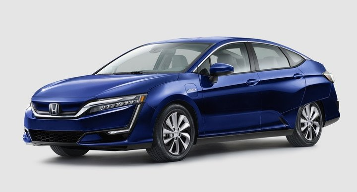 2017 Honda Clarity Electric Front Blue Exterior