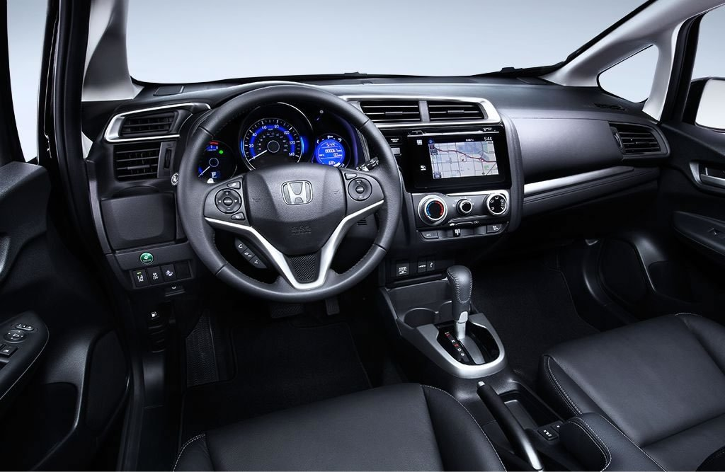 2017 Honda Fit Interior Front