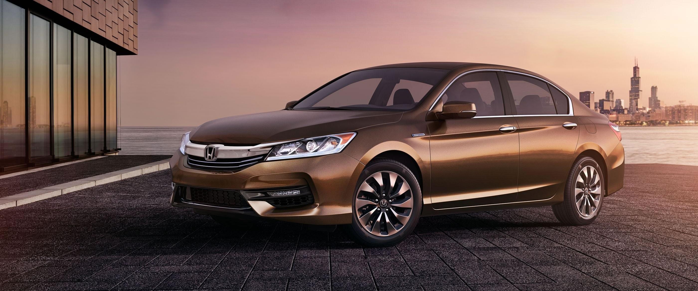 2017 Honda Accord Hybrid Brown Side Exterior