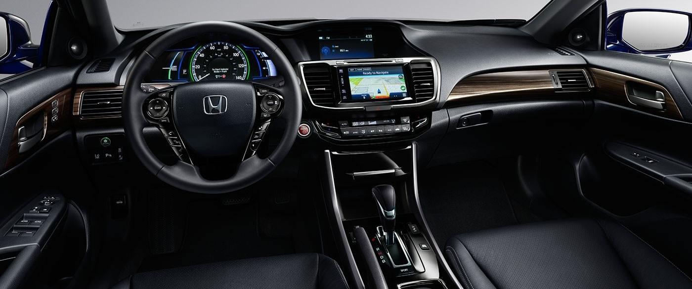 2017 Honda Accord Hybrid Dash Interior