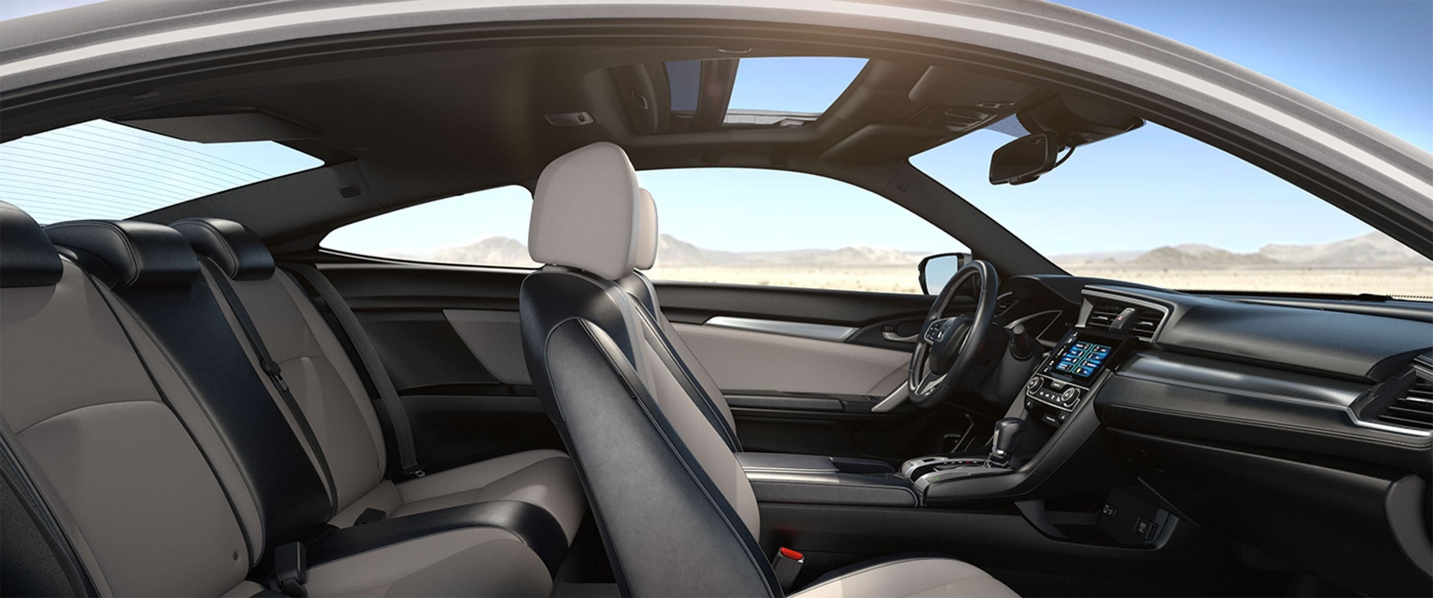 2017 Honda Civic Coupe Seating Interior