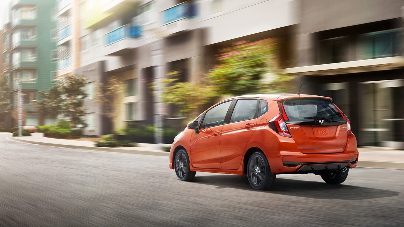 2018 honda fit gets refreshed styling and additional for Orange honda fit