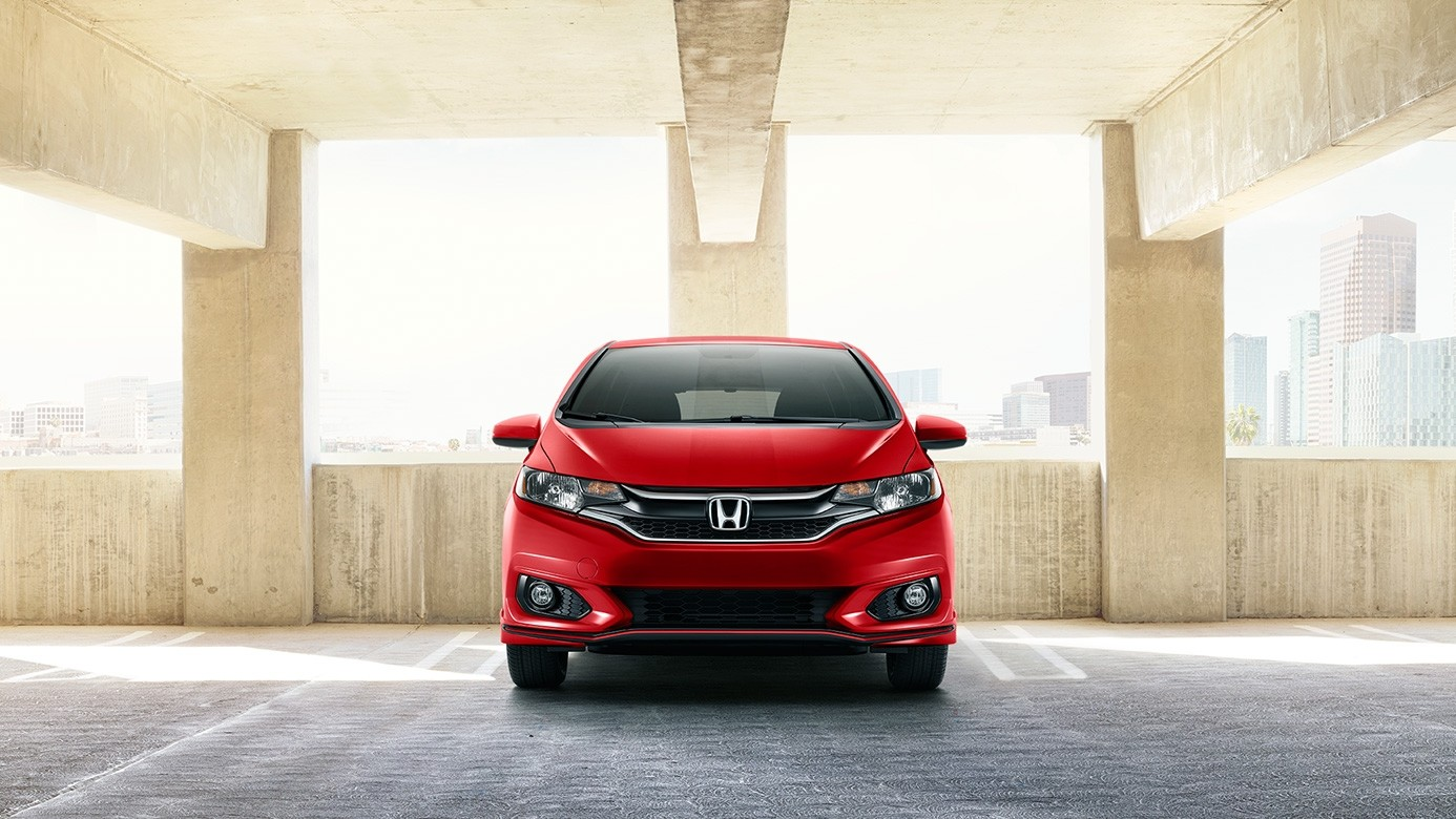 2018 Honda Fit Red Front Exterior