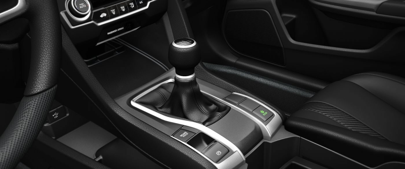 2017 Honda Civic Sedan LX Interior Gear Shifter