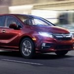2018 Honda Odyssey Red Side Front Exterior