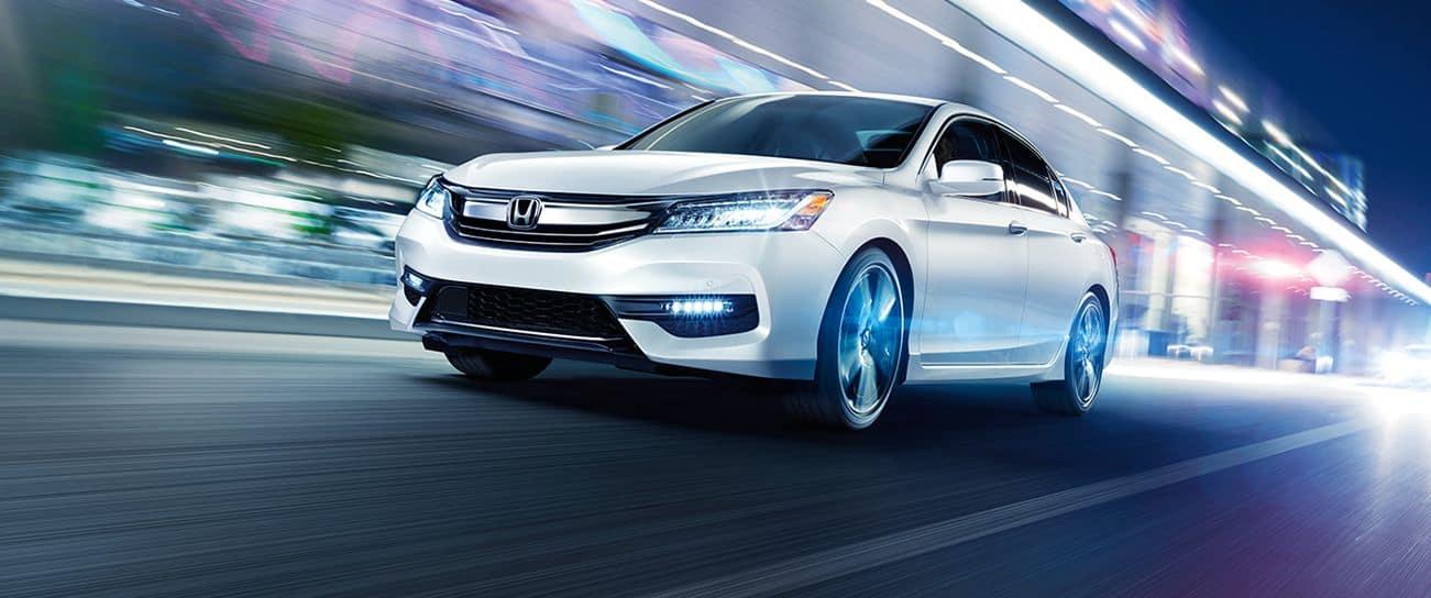 2017 Honda Accord White Exterior