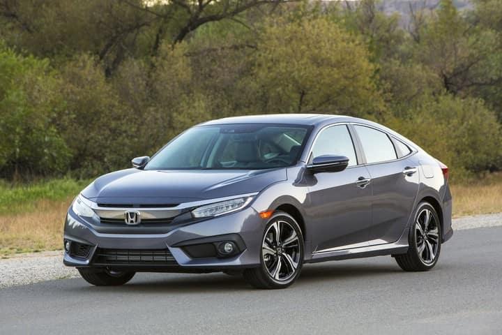 2018 Honda Civic Sedan Gray Exterior