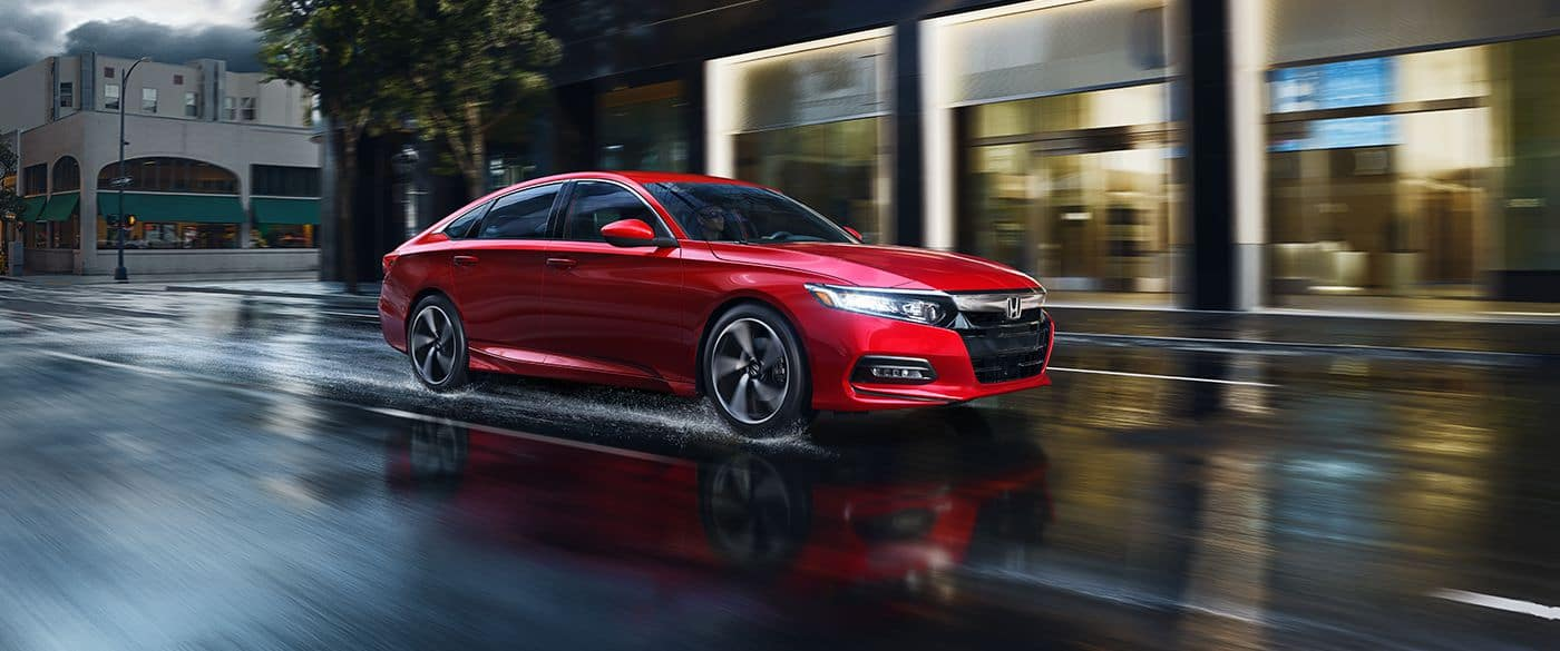 2018 Honda Accord Side Red Exterior