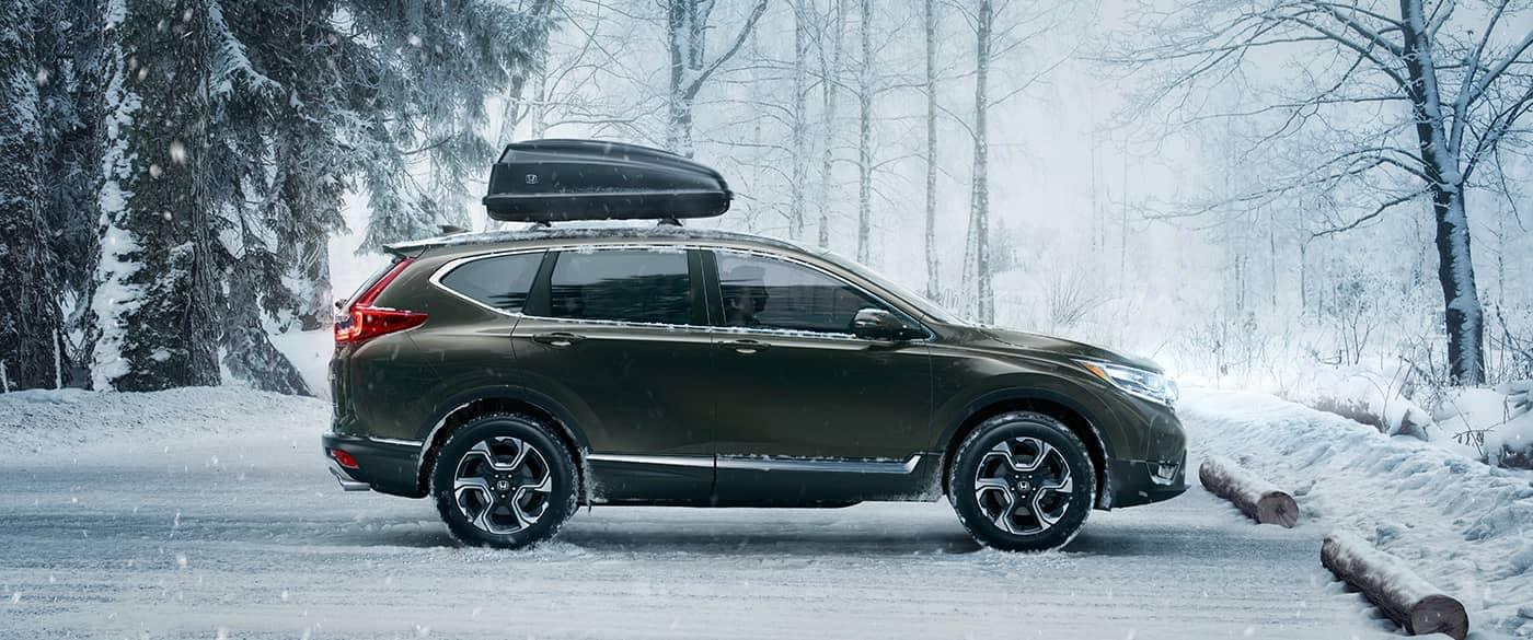 2018 Honda CR-V Green Exterior Side Profile