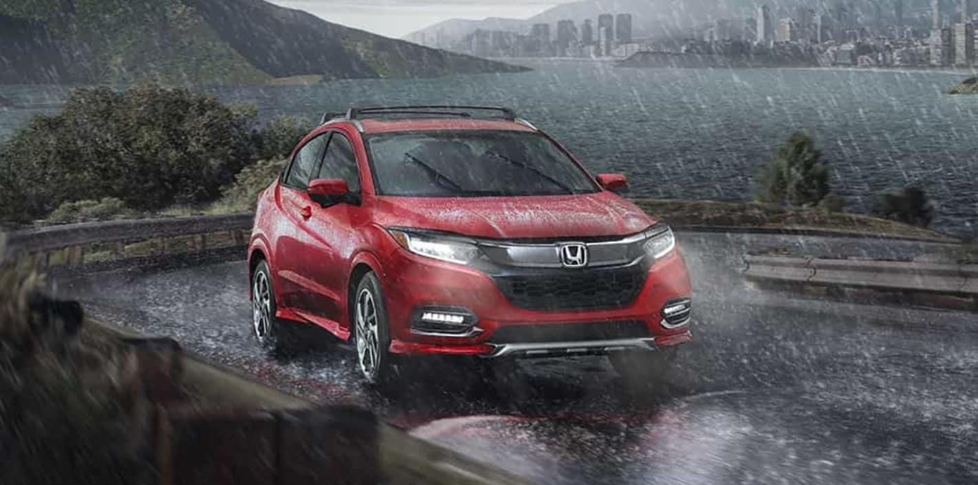 2019 Honda HR-V Front Red Exterior