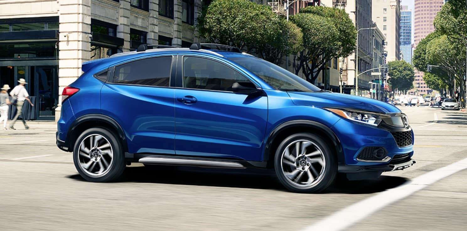 2019 Honda HR-V Side Blue