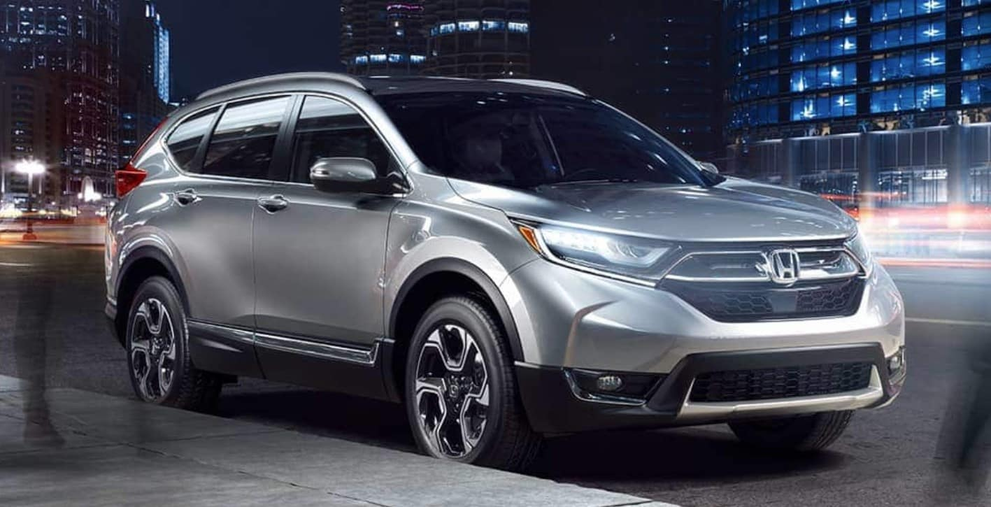 2019 Honda CR-V Front Silver Exterior