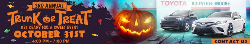 3rd Annual Trunk Or Treat | Get Ready For A Sweet Event | October 31st 4:00 PM - 7:00 PM