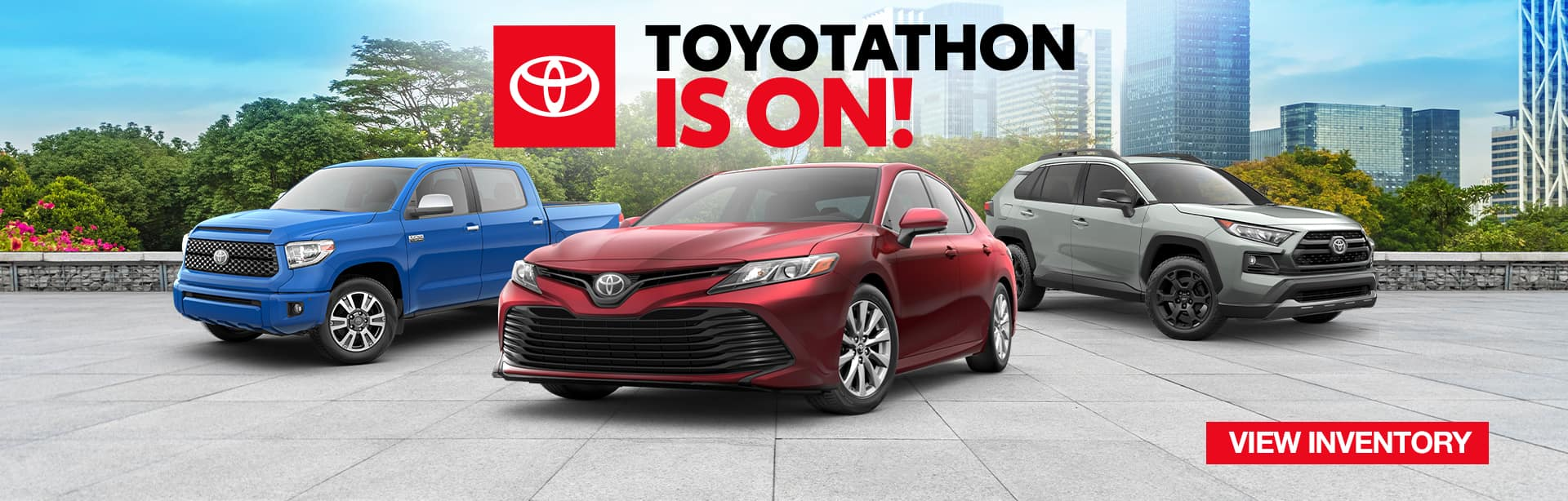 Toyota National Slider | Toyotathon Is On!