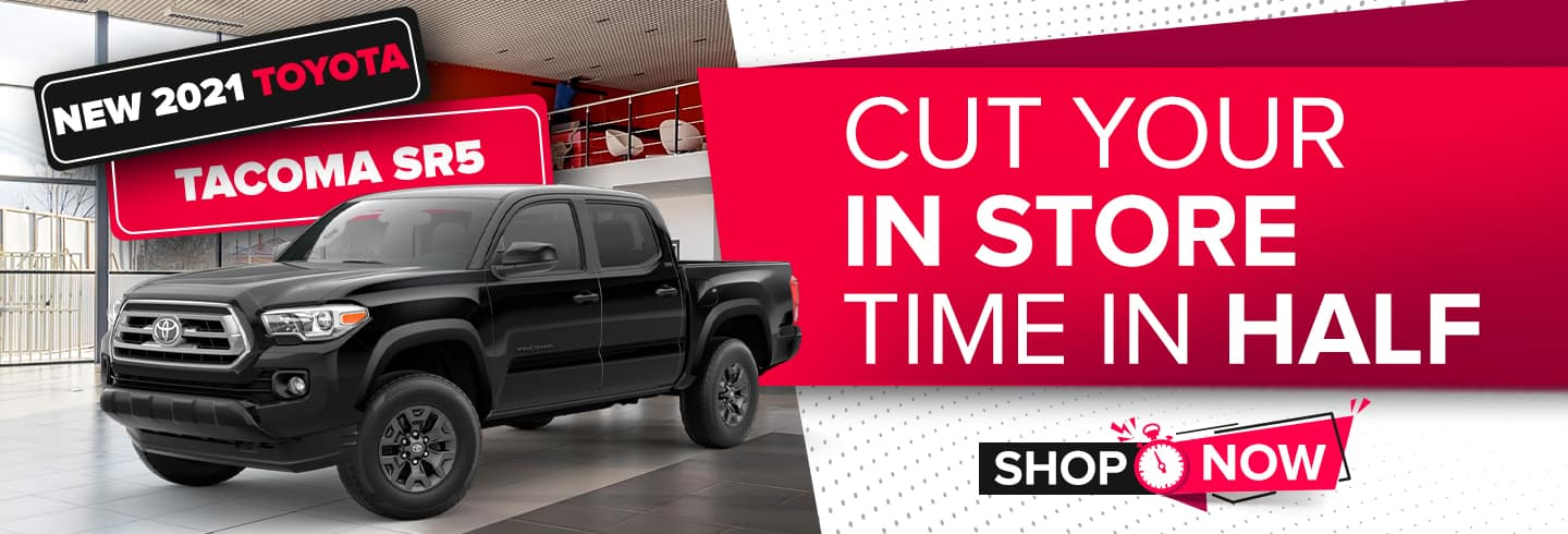 New 2021 Toyota Tacoma SR5   Cut Your In Store Time In Half