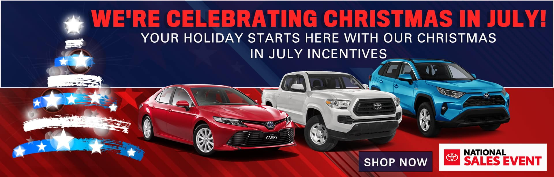 We're Celebrating Christmas In July! | Your Holiday Starts Here With Our Christmas In July Incentives