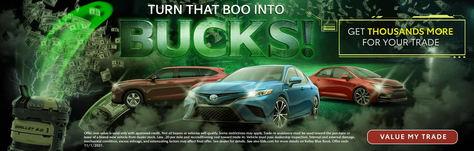 Turn That Boo Into Bucks | Get Thousands More For Your Trade