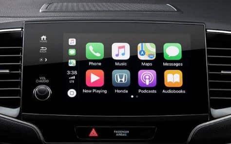 Available Apple CarPlay™ Integration