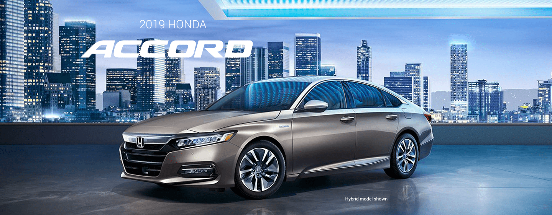 New 2019 Honda Accord