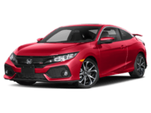 2019 Honda Civic Si Coupe angled