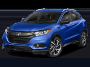 2019 Honda HR-V angled