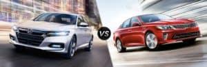 Compare The 2018 Honda Accord vs The 2018 Kia Optima