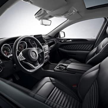 2018 MB AMG GLE front interior