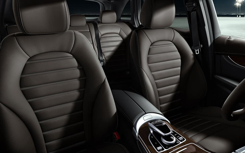 Seats of the 2018 Mercedes-Benz GLC 300