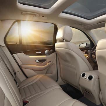 2018 Mercedes-Benz GLC Interior seats
