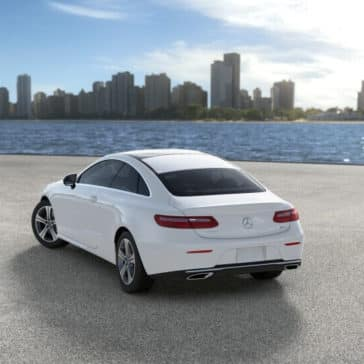 2018 Mercedes-Benz E-Class Coupe rear view