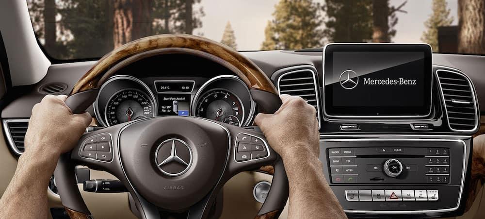 Mercedes-Benz GLE interior dashboard