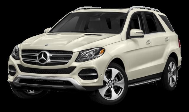 White Mercedes-Benz GLE