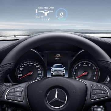 2019 Mercedes-Benz GLC driver view