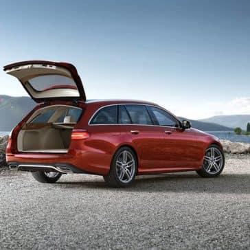 2019 Mercedes-Benz E-Class trunk open