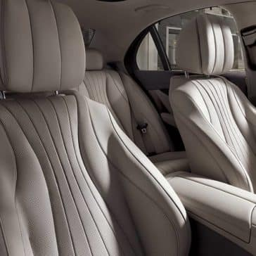 2019 Mercedes-Benz E-Class seating