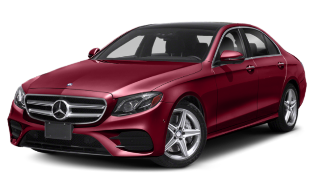Red 2019 Mercedes-Benz E-Class