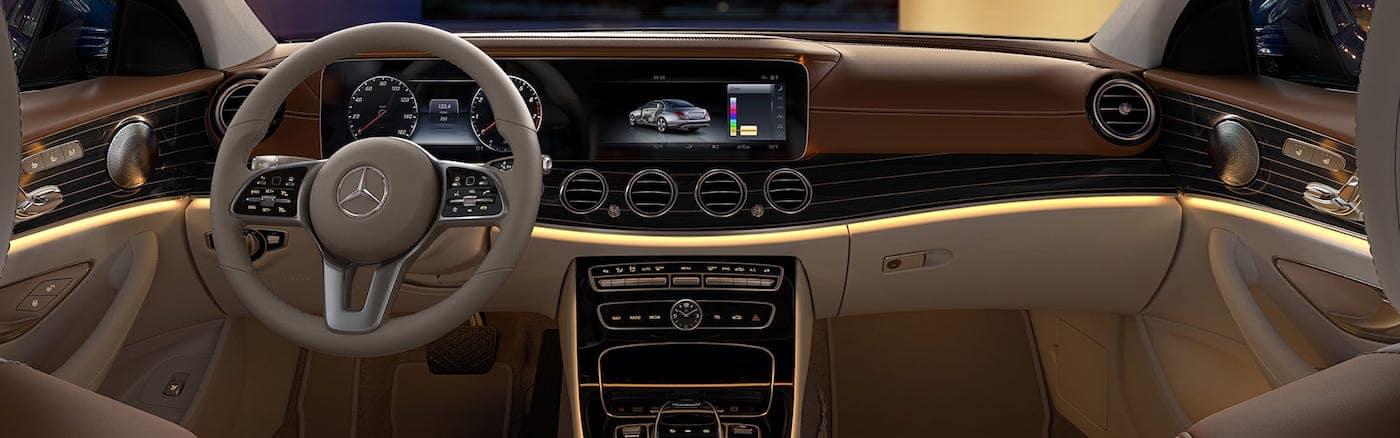 E-Class sedan interior