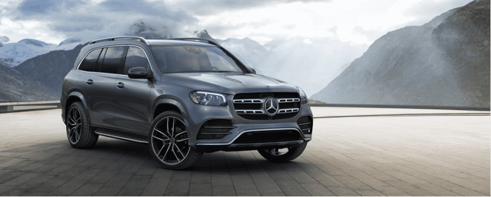 Gray-Blue 2020 Mercedes-Benz GLS
