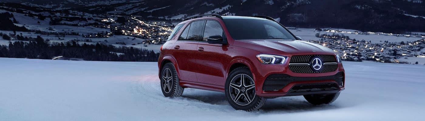 Red 2020 Mercedes-Benz GLE