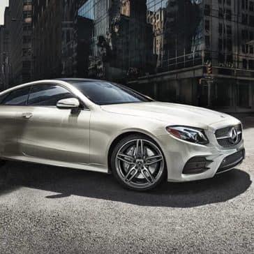 2020 MB E-Class Coupe In The City