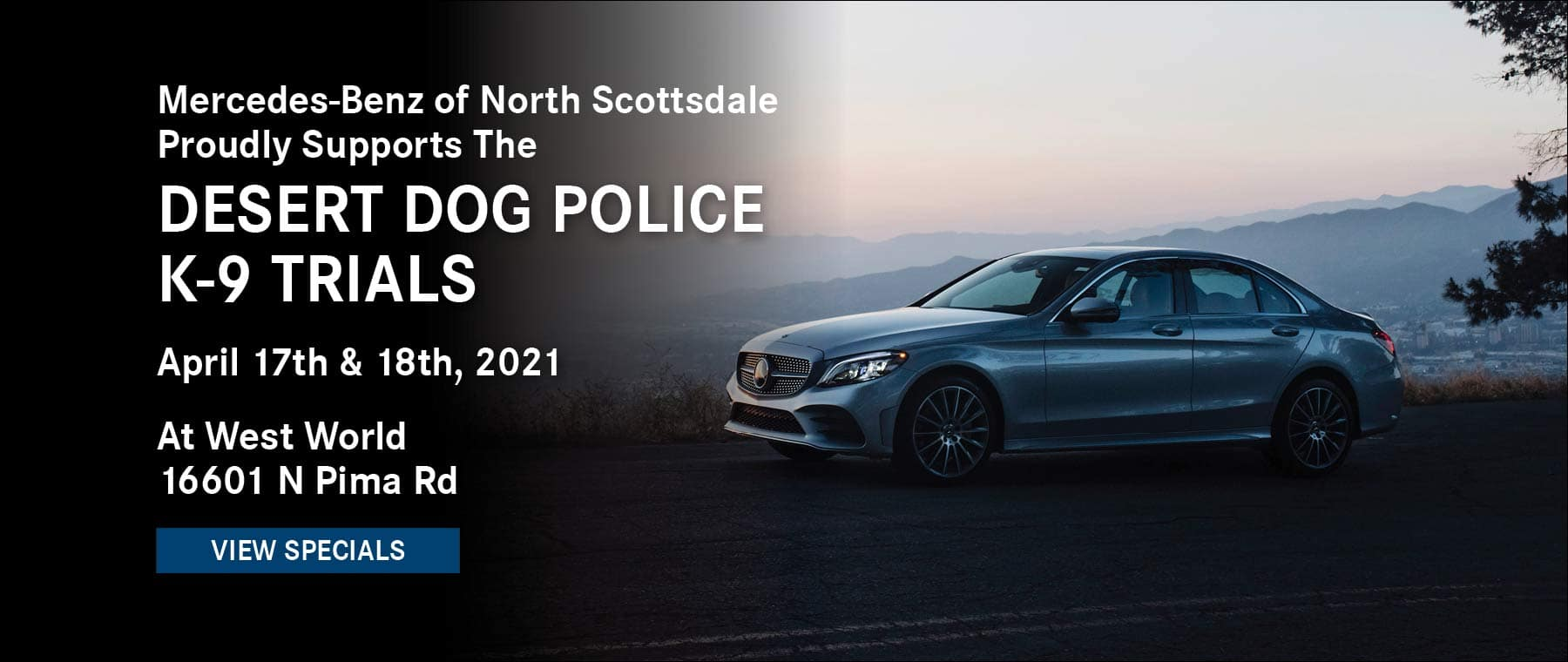 MB North Scottsdale proudly supports K-9 Trials