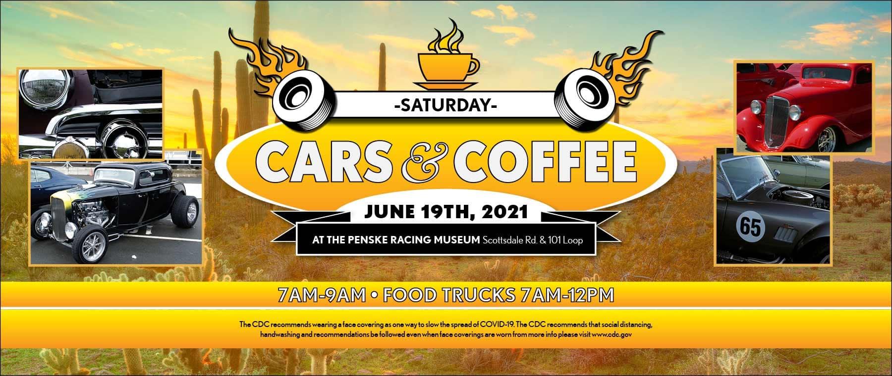 Cars & Coffee - Saturday, June 19, 2021
