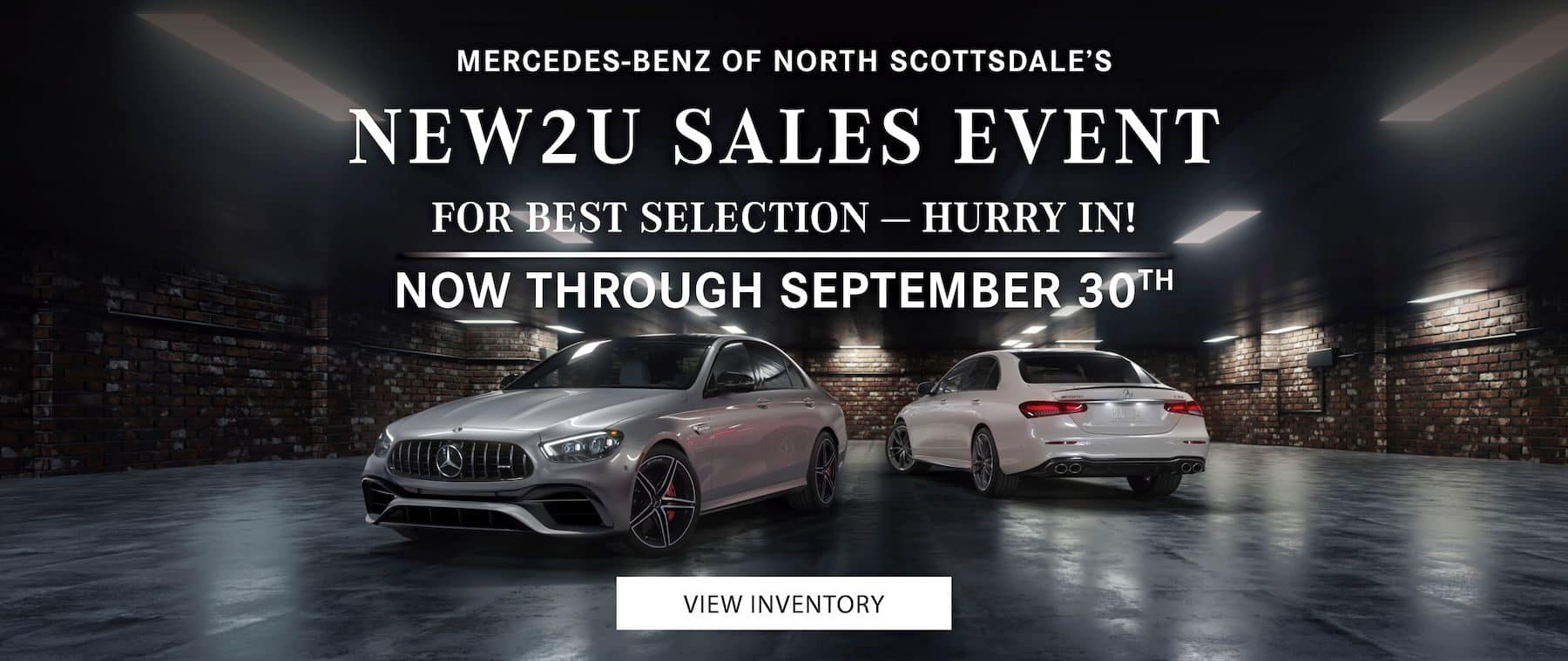 New To You Sales Event - Now Through September 30!